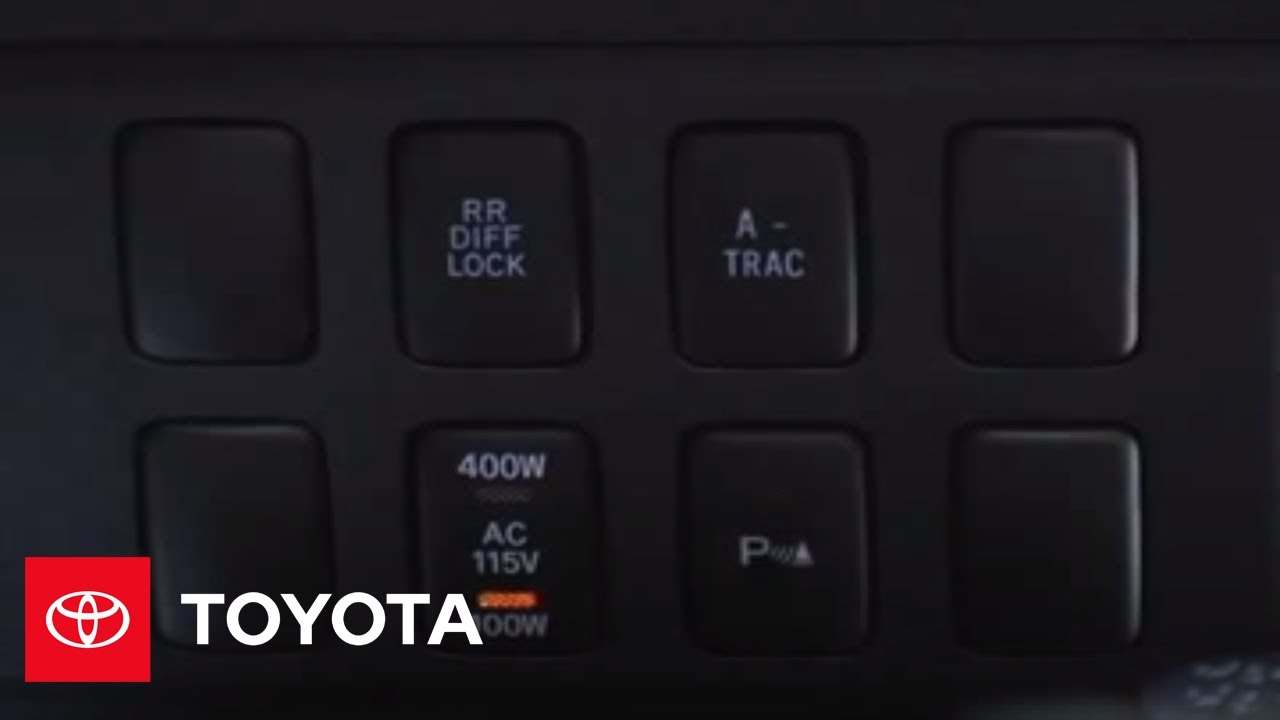 2007 - 2009 fj cruiser how-to: 115-volt power outlet (manual transmission)  | toyota