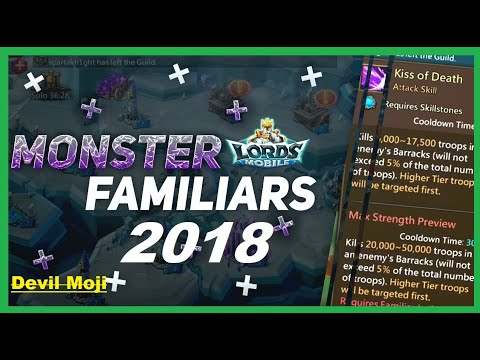Lords Mobile :F2P Easy Way To Get Familiars Medals To Adult 2018