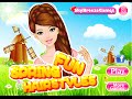 Fun Spring Hairstyles- Online Hairstyle Fashion Games for Girls Kids Teens