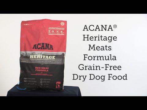 ACANA® Heritage Meats Formula Grain Free Dry Dog Food Review