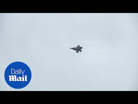 US F-35A fighters land in Estonia to support NATO allies - Daily Mail