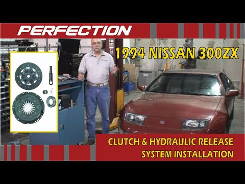 1994 Nissan 300zx Clutch And Hydraulic Release System