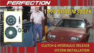 1994 NISSAN 300ZX Clutch and Hydraulic Release System Installation