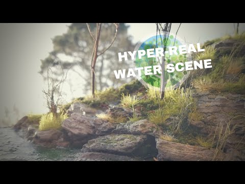 Awesome water scene diorama: making the ultimate realistic scene