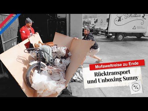 Rücktransport und Unboxing   Letztes Video meiner Mofa-Weltreise