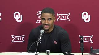 OU Football: Jalen Hurts on win over Baylor