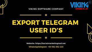 Telegram software   Send bulk messages with Viking telegram software