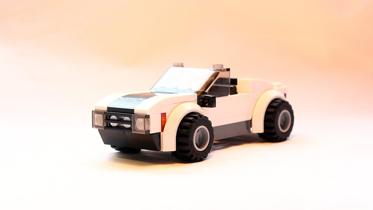 Custom Lego Sports Car Instructions Youtube