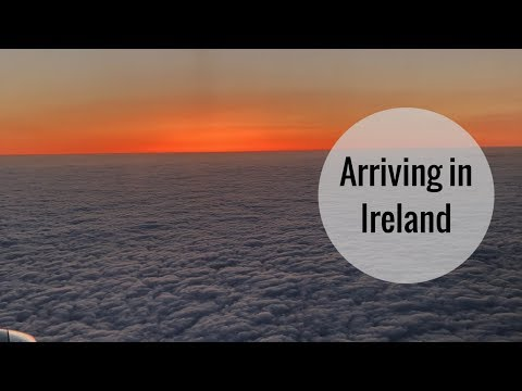 My Trip to Ireland | The Arrival