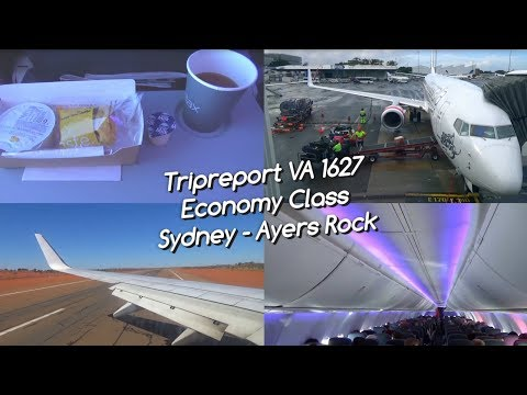 TRIPREPORT | VA 1627 Sydney - Ayers Rock | Virgin Australia