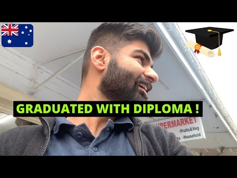 Finally GOT MY DIPLOMA CERTIFICATE    STUDENTS IN AUSTRALIA