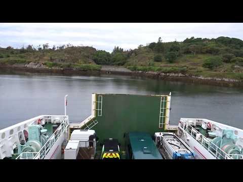 x4 speed - Leaving Stornoway Ferry Terminal on Caledonian MacBrayne MV Loch Seaforth