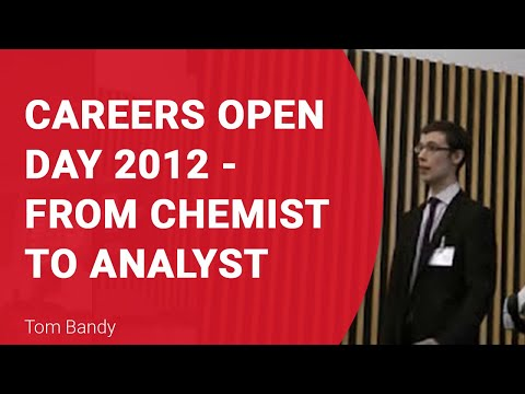 From Chemist to Analyst