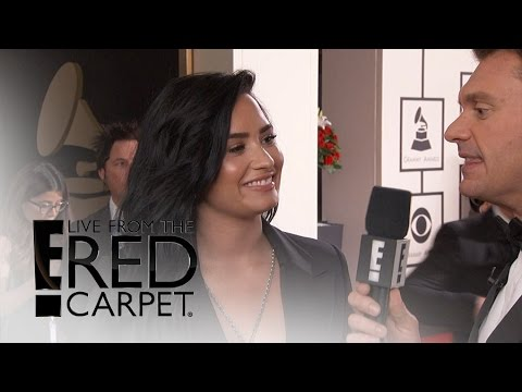 Demi Lovato Excited for Very First Grammy Awards! | Live from the Red Carpet | E! News Mp3