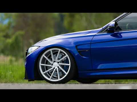 [Hot News] Clean Monte Carlo Blue BMW M3 Dropped On Vossen CVT Directional Wheels