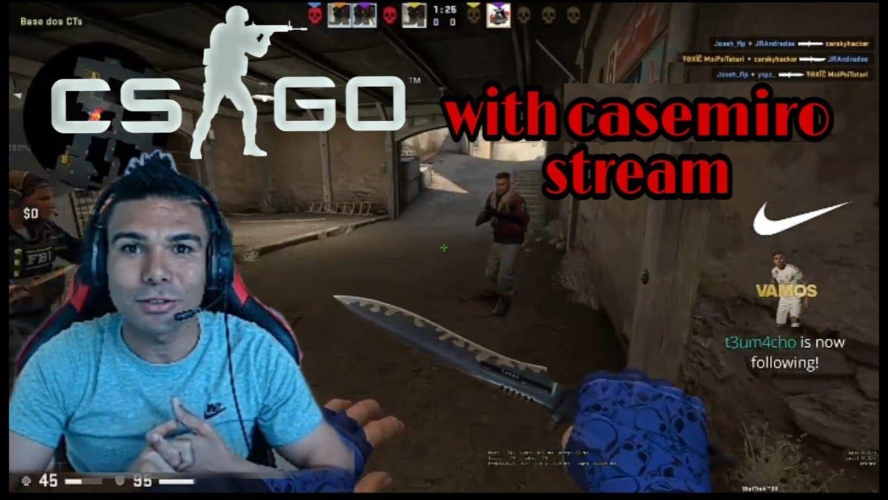 casemiro play cs go - YouTube