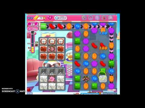 Candy Crush Level 1451 help w/audio tips, hints, tricks