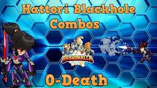 Insane 2v2 Hattori Blackholes #1   Brawlhalla Gameplay
