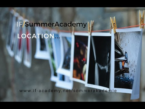 IF/SummerAcademy for PHOTOGRAPHY 23-27 August - Location: Magical Italian Winery