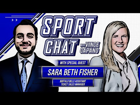 Episode 8: Sara Beth Fisher On Sport Chat With Vince Capano (Full Interview)