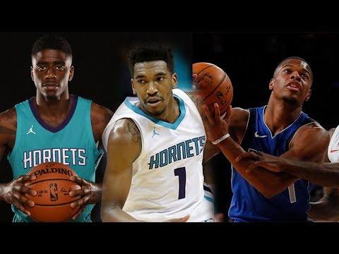 Dennis Smith Jr VS Malik Monk & Dwayne Bacon ROOKIE SHOWDOWN!! Mavericks vs Hornets Preseaon!