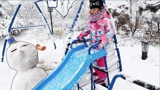 라임의 눈사람 만들기와 산타클로스우체국 체험| 크리스마스 캐롤 징글벨과 웃긴 영상 모음 LimeTube