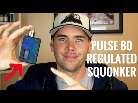 Tony B x Vandy Pulse 80W Regulated Squonk Mod [& my favorite RDA to use with it!]
