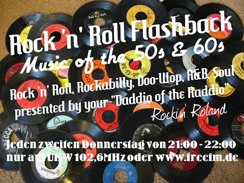 Rock 'n' Roll Flashback auf Radio free FM (02.04.15) - 50 & 60s Radio Show - Clip