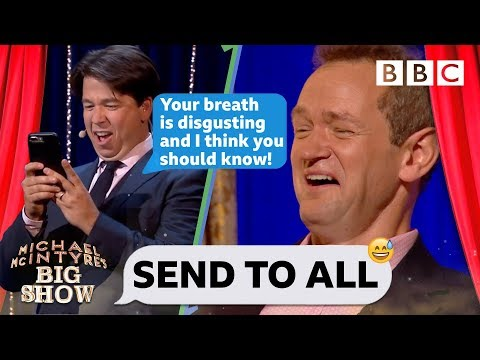 Send To All with Alexander Armstrong  Michael McIntyre's Big : Series 2 Episode 2  BBC One