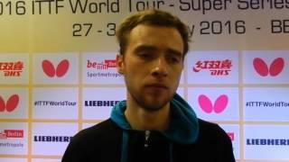 Александр Шибаев Настольный теннис Интервью