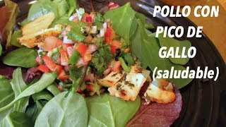 POLLO CON PICO DE GALLO (saludable) Thumbnail