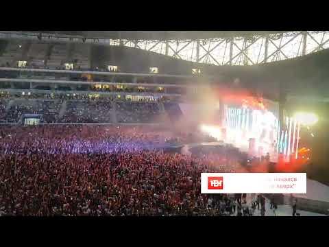 Концерт Руки вверх в Волгограде собрал лишь половину стадиона