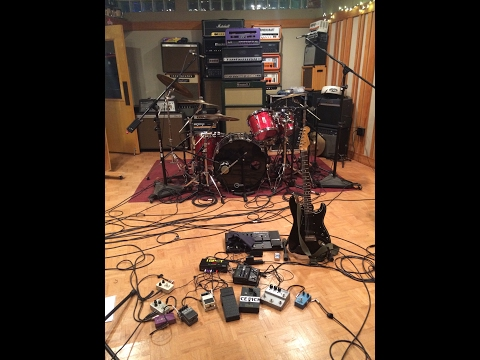 ENDON Recording Session at GODCITY, SALEM MA, NOVEMBER 2016