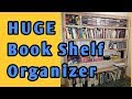 Huge Book Shelf - Home & Garage Organizer
