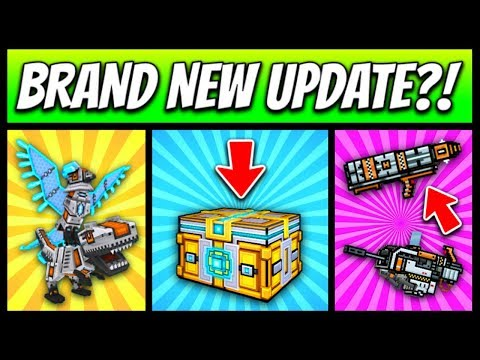 BRAND NEW UPDATE?! | Pixel Gun 3D - New Update 12.5.3 [Review]