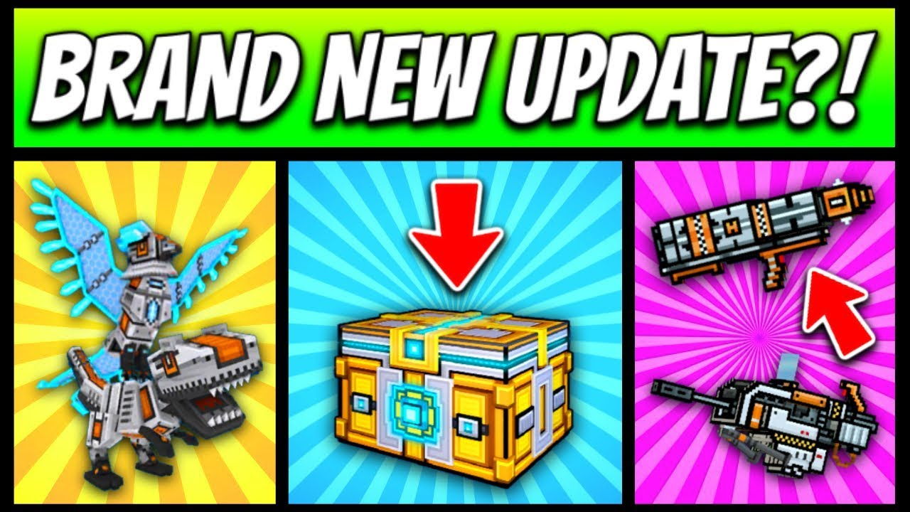 Brand New Update?!  Pixel Gun 3d  New Update 1253