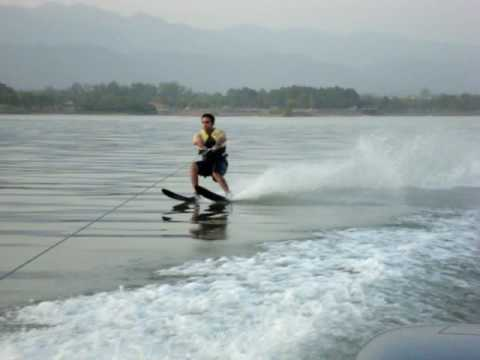 water skiing at rawal lake islamabad