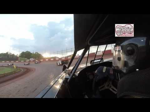 Dan Meadows Econo Bomber Ride Along Dixie Speedway 4/29/17!