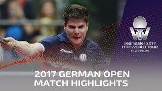2017 German Open Highlights: Timo Boll vs Dimitrij Ovtcharov (Final)