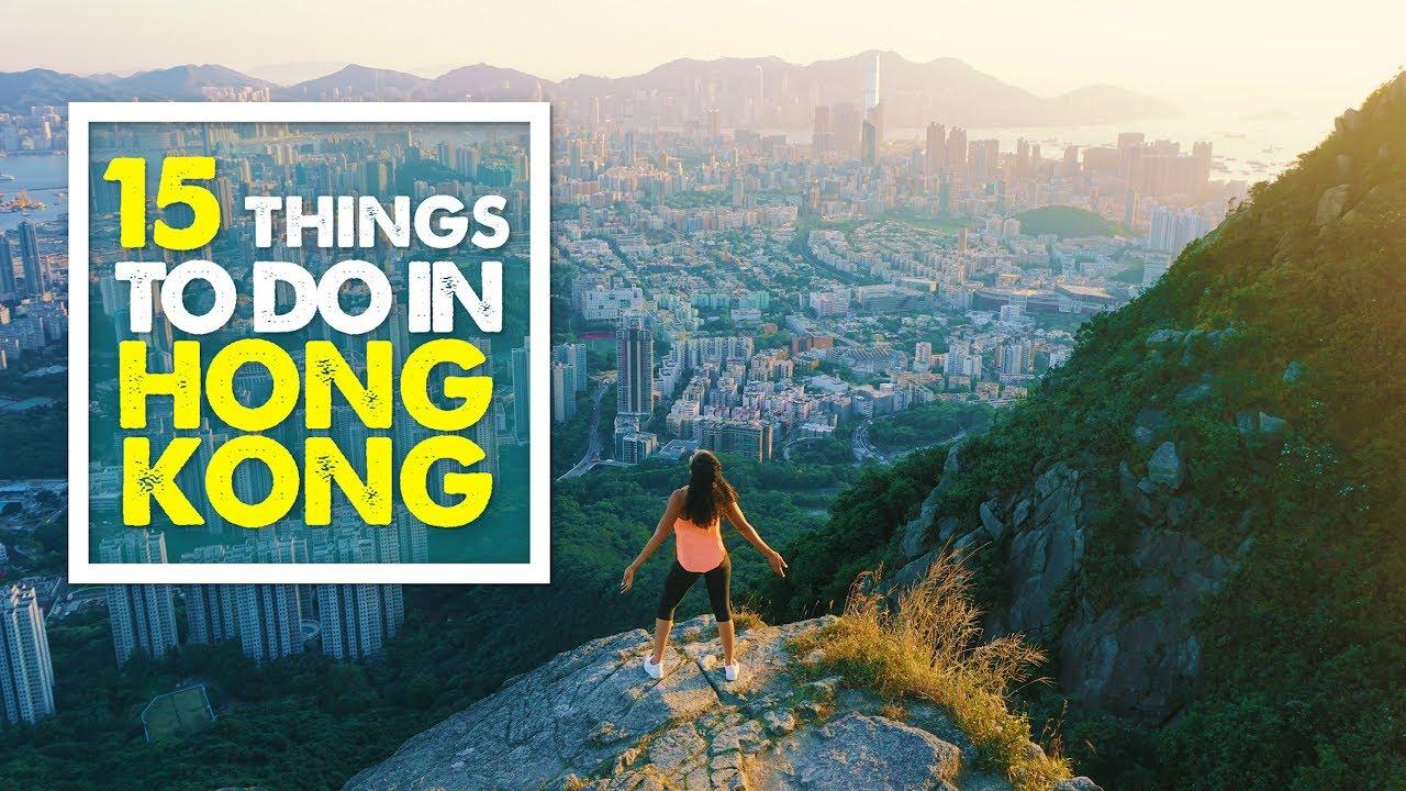 Top 15 Things To Do In Hong Kong Travel Guide 4k Youtube