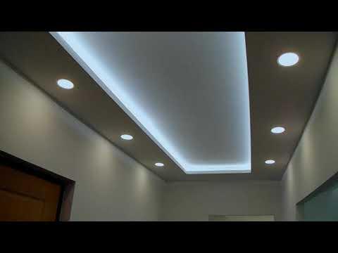 Ремон квартиры под ключ 🔐, идеи ремота,потолки из гипсокартона со скрытой подсветкой