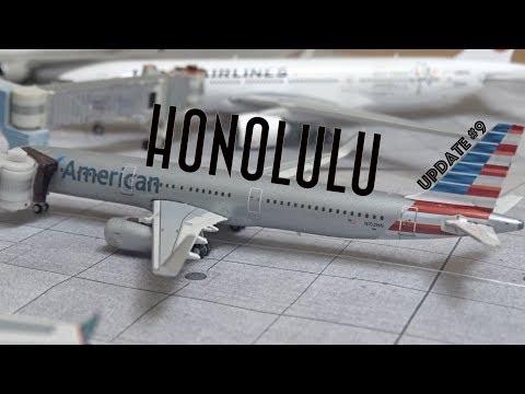 [Homemade] 1/400 Daniel K. Inouye Honolulu International Airport   Update #9