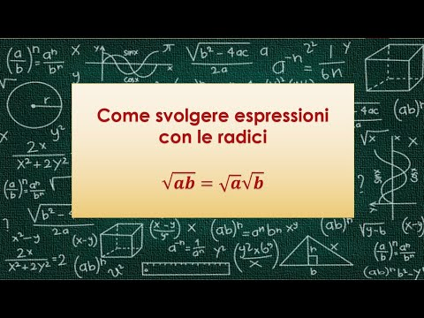Come svolgere espressioni con le radici from YouTube · Duration:  8 minutes 1 seconds