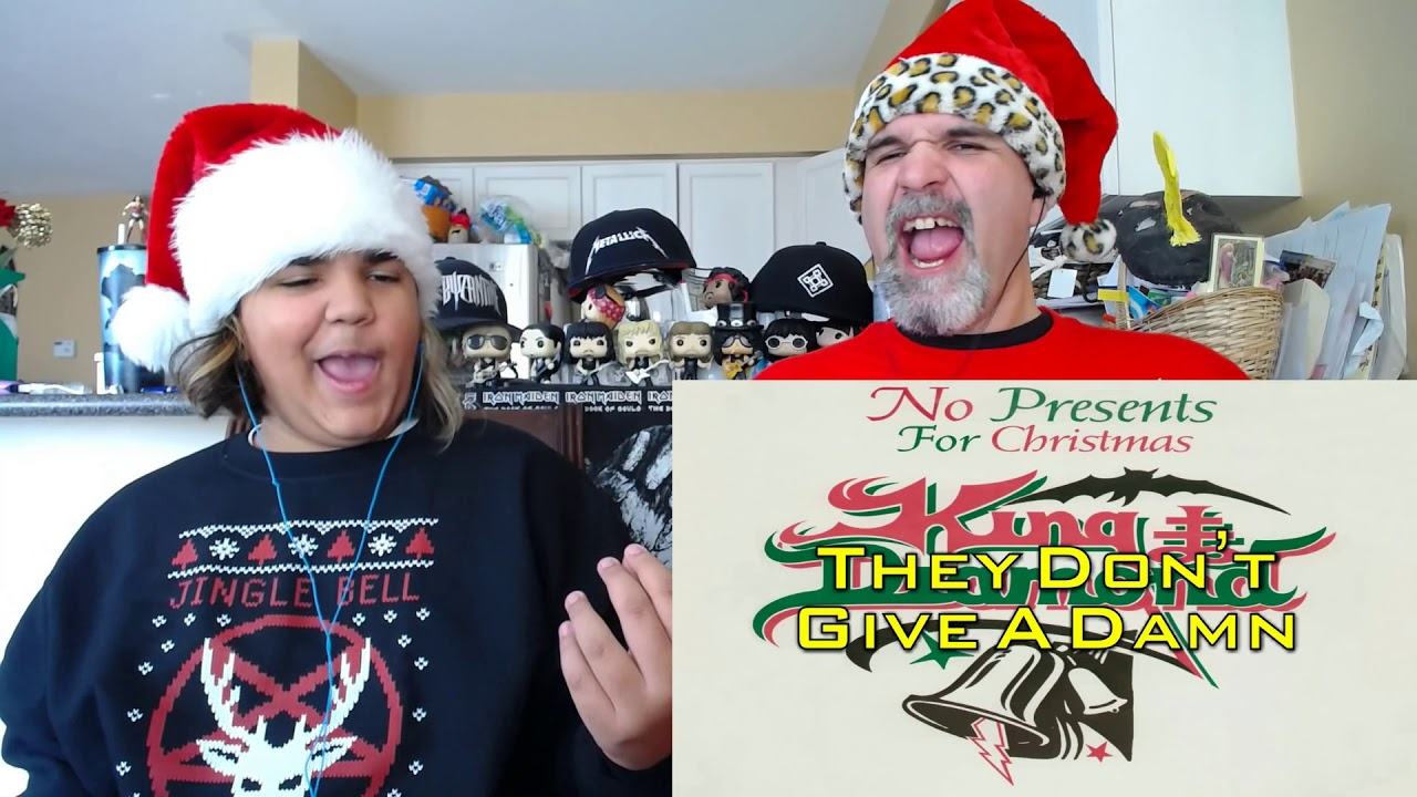 King Diamond - No Presents For Christmas (Lyric Video) REACTION ...
