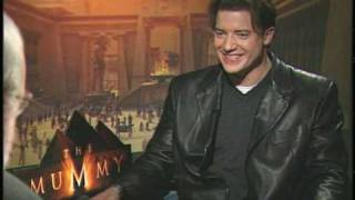 Brendan Fraser talks with Joe Leydon about