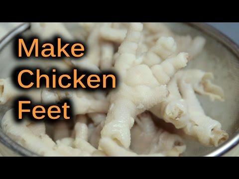 Chicken Feet Recipe! Yum! | BeatTheBush