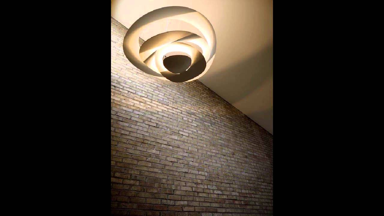 Lampade Da Soffitto A Led Artemide : Artemide pirce youtube