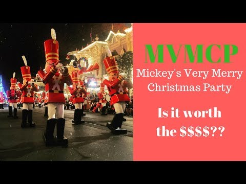 Mickeys Very Merry Christmas Party: Worth the money??