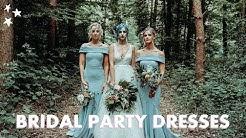 FINDING MY BRIDESMAID & FLOWER GIRL DRESSES