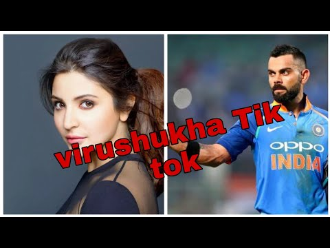 Virat Kohli And Anushka shrma Tik tok #virushka #no1batman #cutelove #couoles